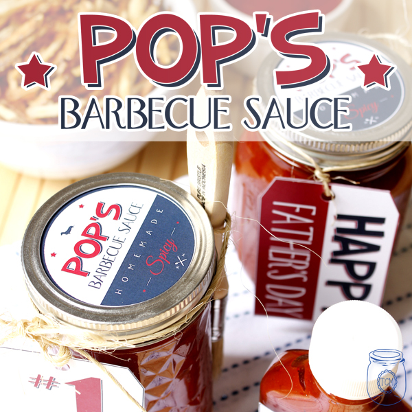 BBQ Sauce Recipe and Printable for Father's Day