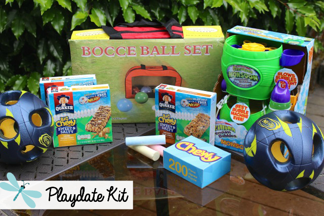 Tips on planning a Fantastic Family Playdate, a super fun summertime activity.