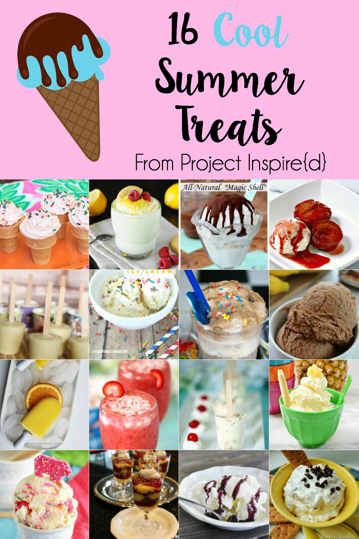 16 Cool Summer Treats