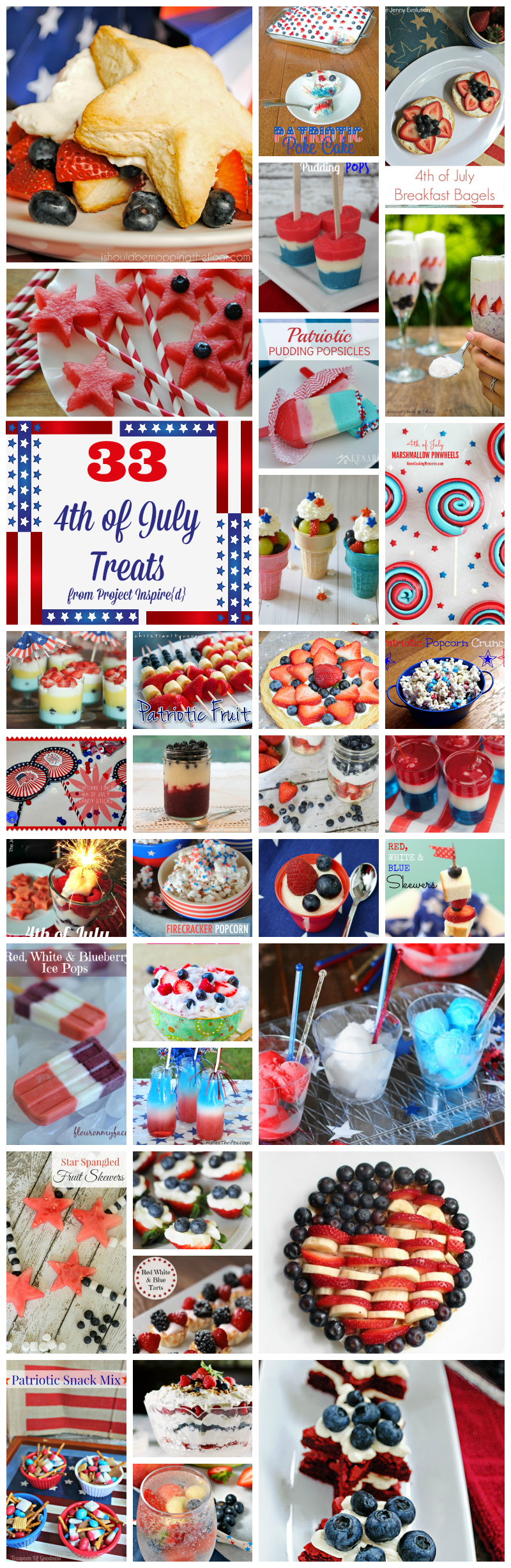 33 Fourth of July Treats