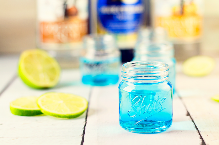 Blue Lagoon Shot Recipe