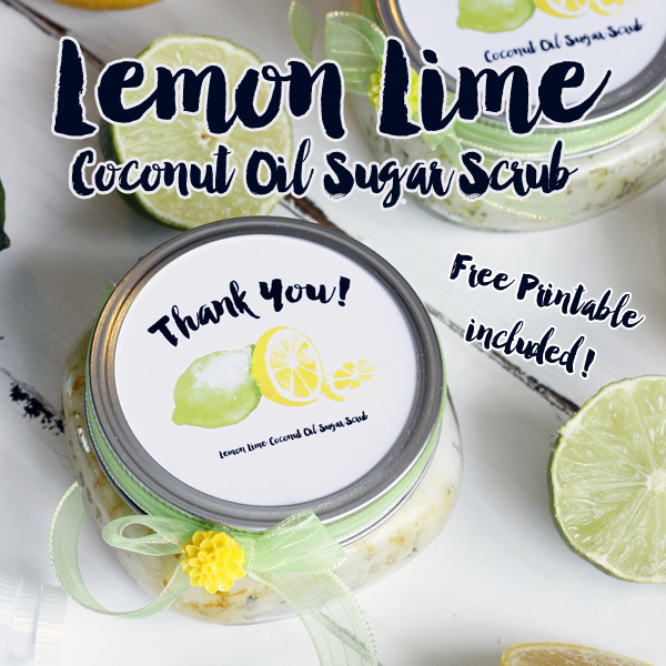 Coconut Lemon Line Sugar Scrub