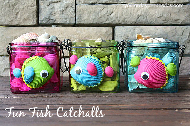 Fun Fish Catchalls