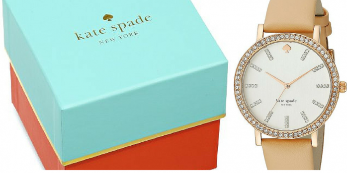 Enter the Summer Kickoff Giveaway to win a Kate Spade watch valued at $225 and $375 in cash!