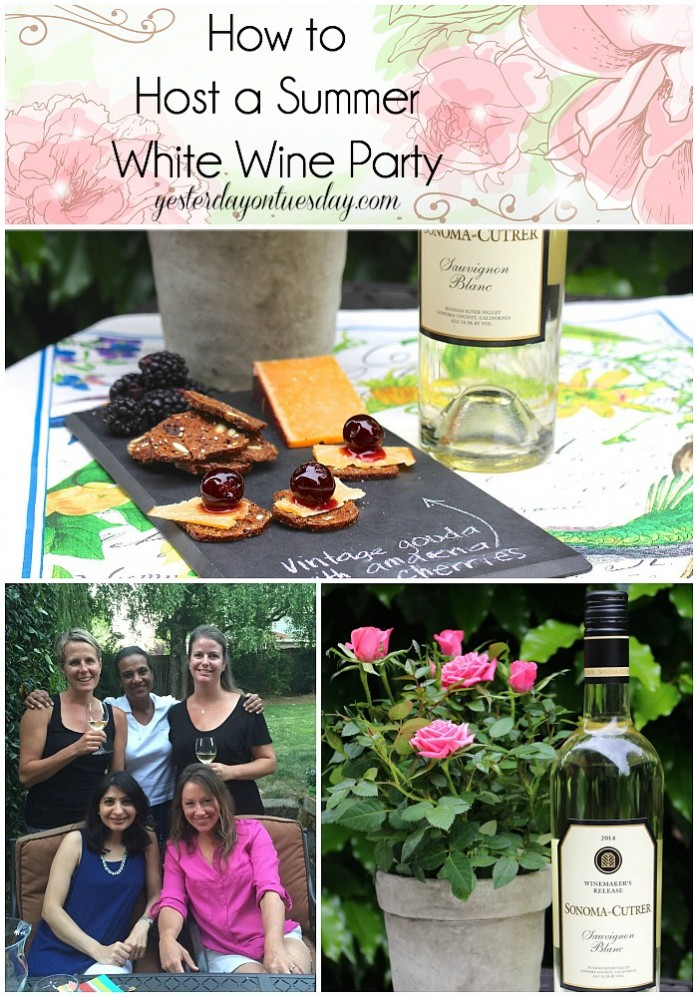 How to host a summer white wine party yesterday on tuesday for How to be a good party host