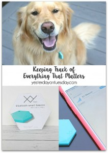 Keeping Track of Everything That Matters with the XY Find It, a loss prevention device that helps you keep track of your possessions and pets!