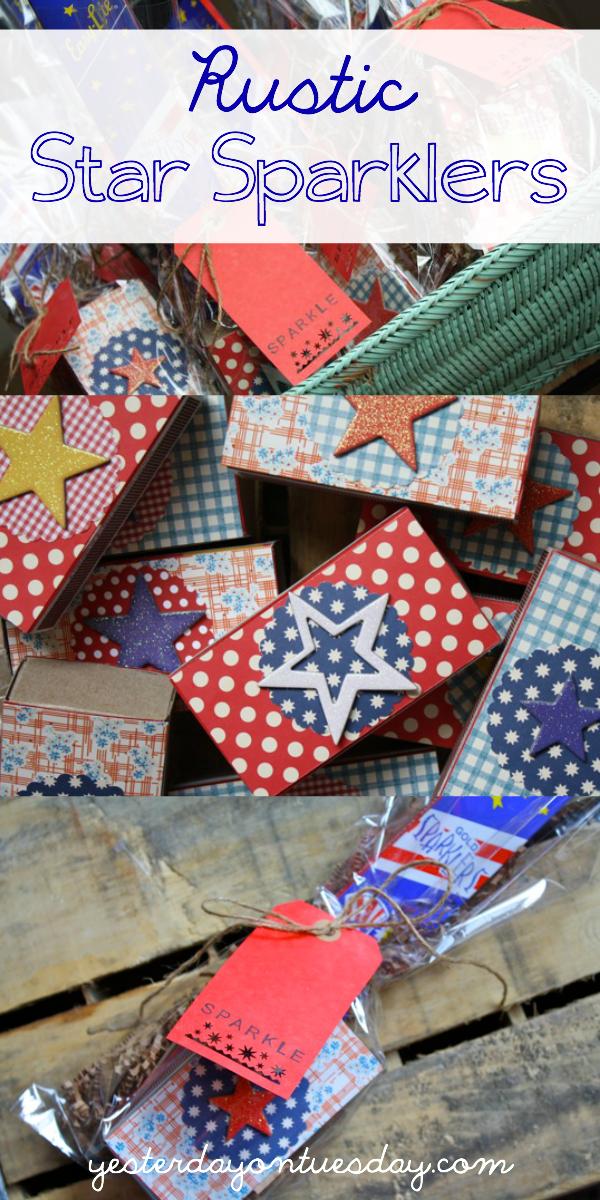 Rustic Fourth of July: Sparkler Take Aways