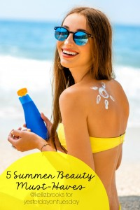 5 Summer Beauty Must Haves, curated by professional makeup artist Kelli Z. Brooks