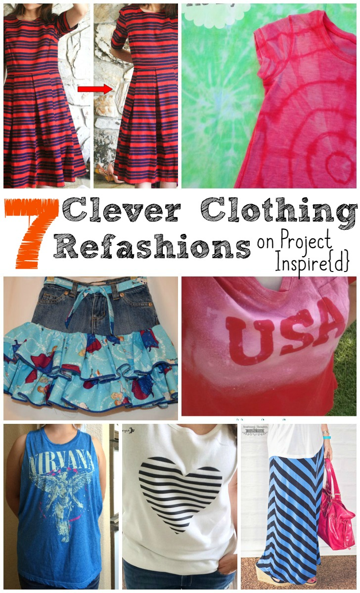 7 Clever Clothing Refashions