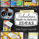 14 Fabulous Back-To-School ideas, tons of fun projects for school