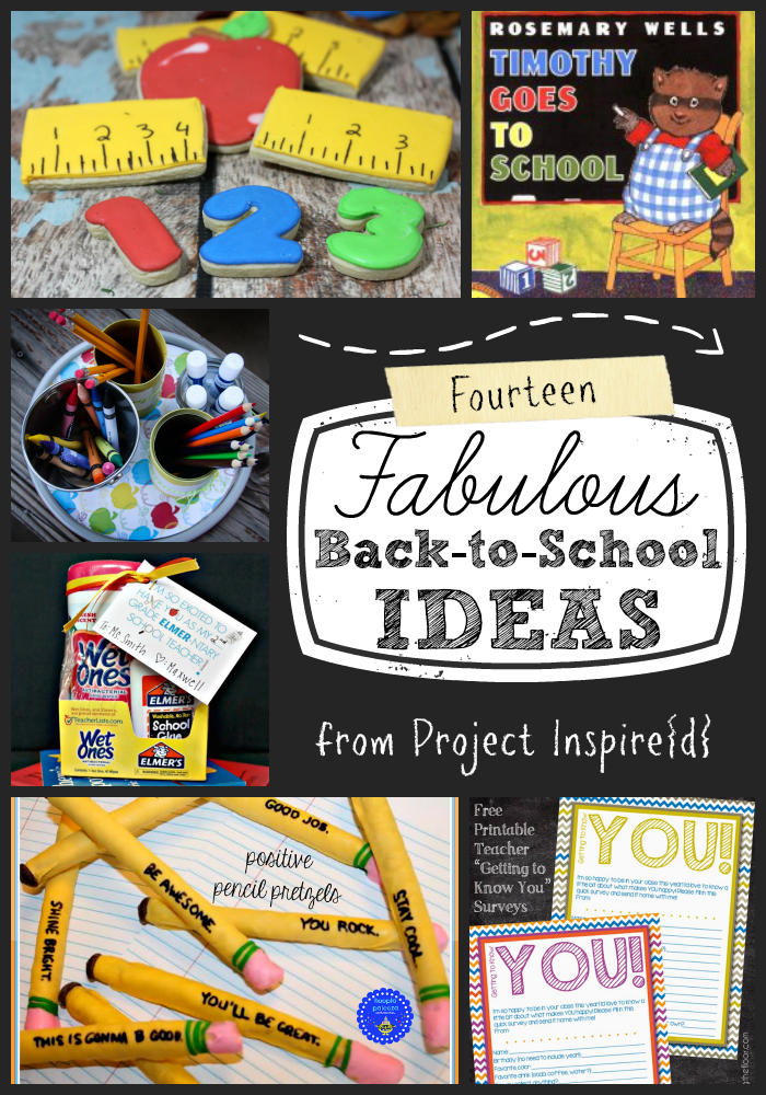 14 Fabulous Back to School Ideas