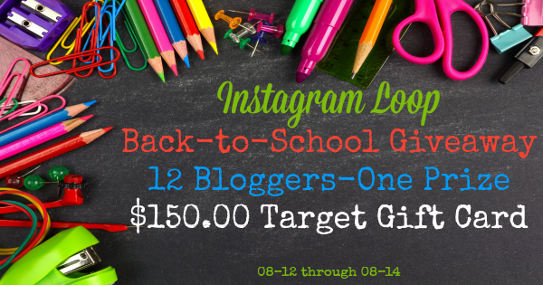 Facebook Instagram Loop Graphic Back-to-School Giveaway 08-12 through 08-15
