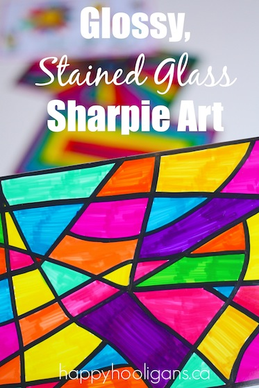 Glossy-Stained-Glass-Sharpie-Art