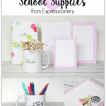 Grown Up School Supplies from Expressionery