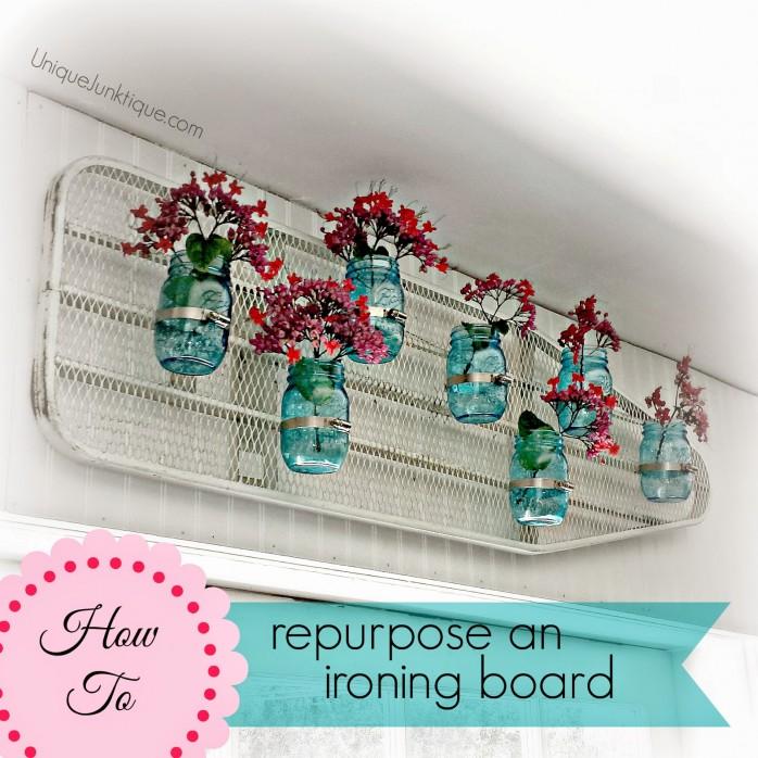 Repurpose an Ironing Board