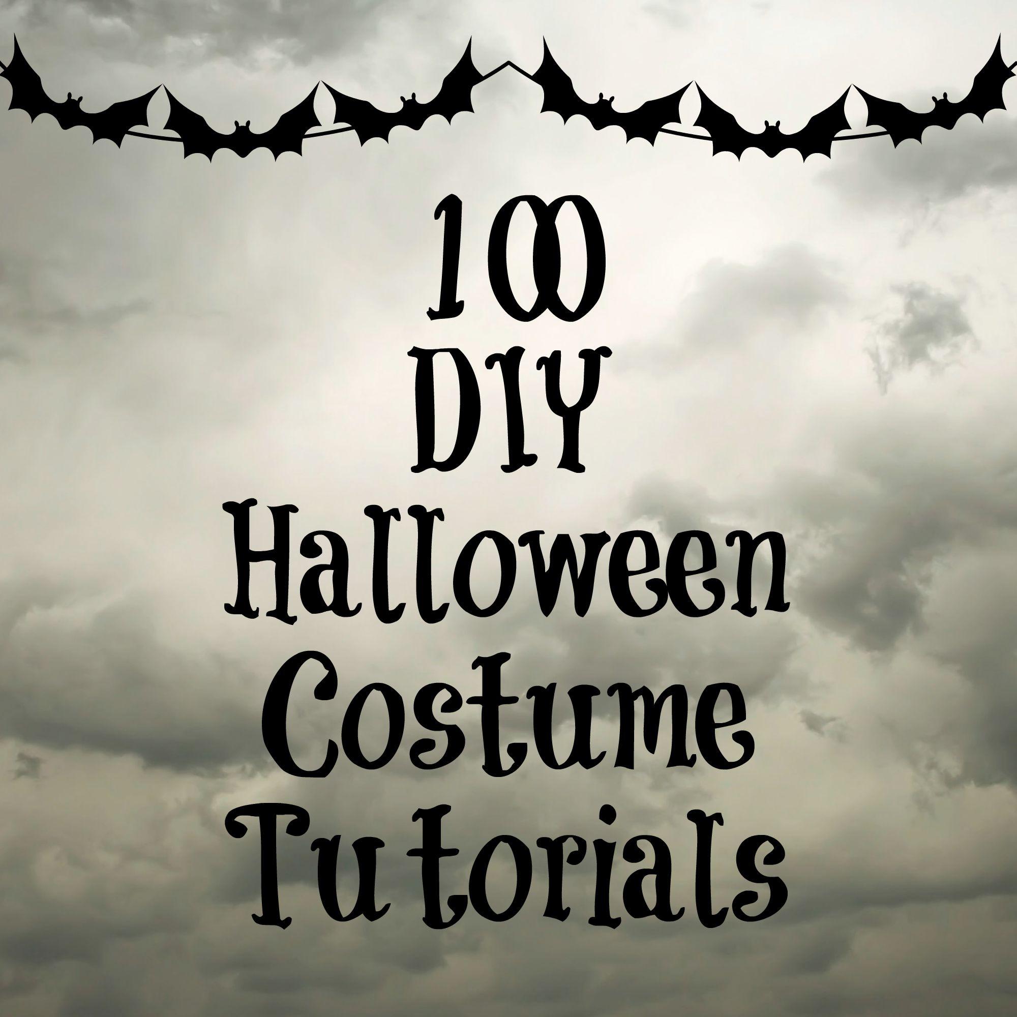 100 DIY Costume Tutorials