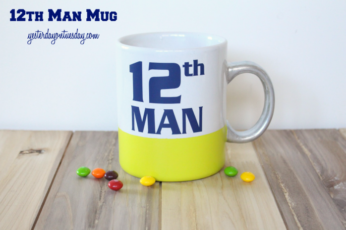 How to customize a 12th Man Mug