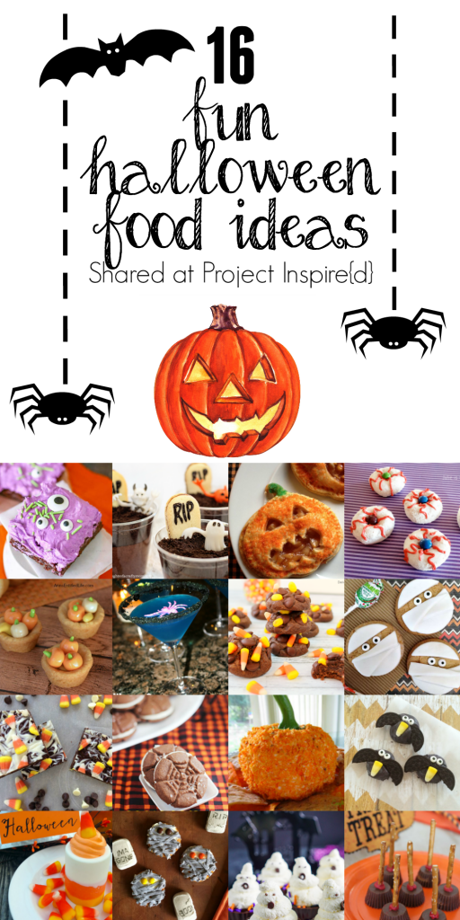 16 Fun Halloween food ideas including cookies, drinks, treats and more