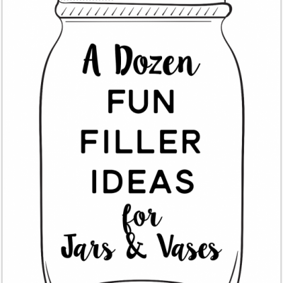 A Dozen Fun Filler Ideas