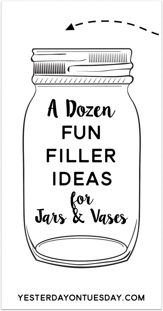 A Dozen Fun Filler Ideas Yesterday On Tuesday