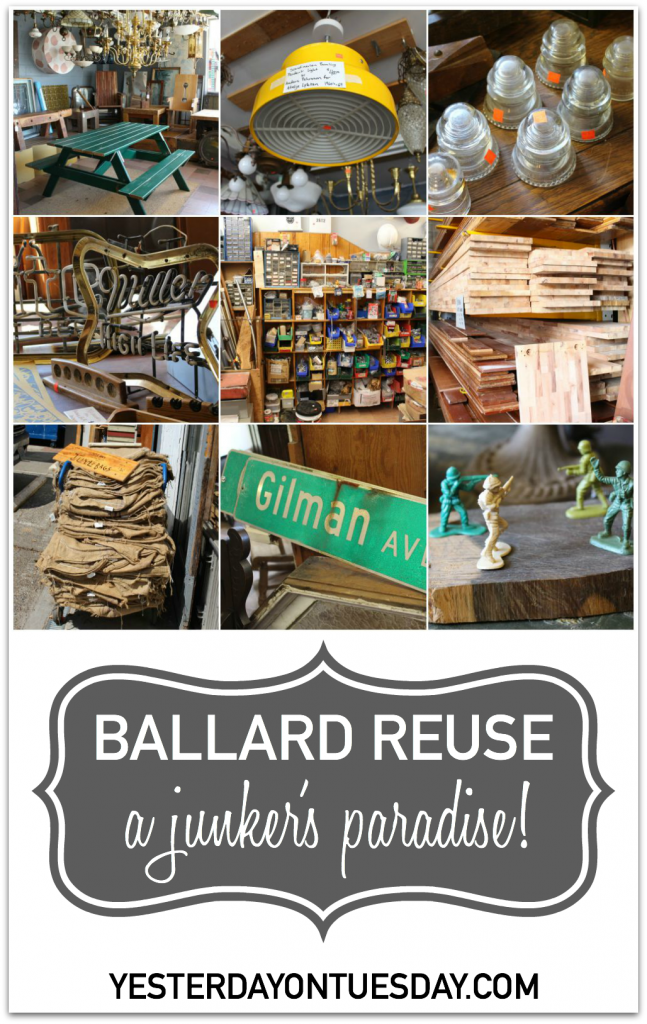 A used building materials superstore, with a very eclectic inventory of vintage and reclaimed materials in Seattle, WA.