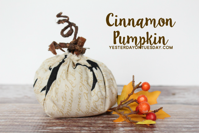 How to make a sweet Cinnamon Pumpkin for Fall