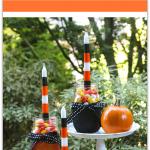 DIY Halloween Mason Jar Candle Holders, a great fall decor project