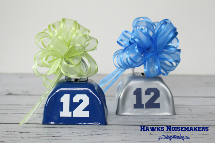Cheer on your favorite team with these easy to make noisemakers