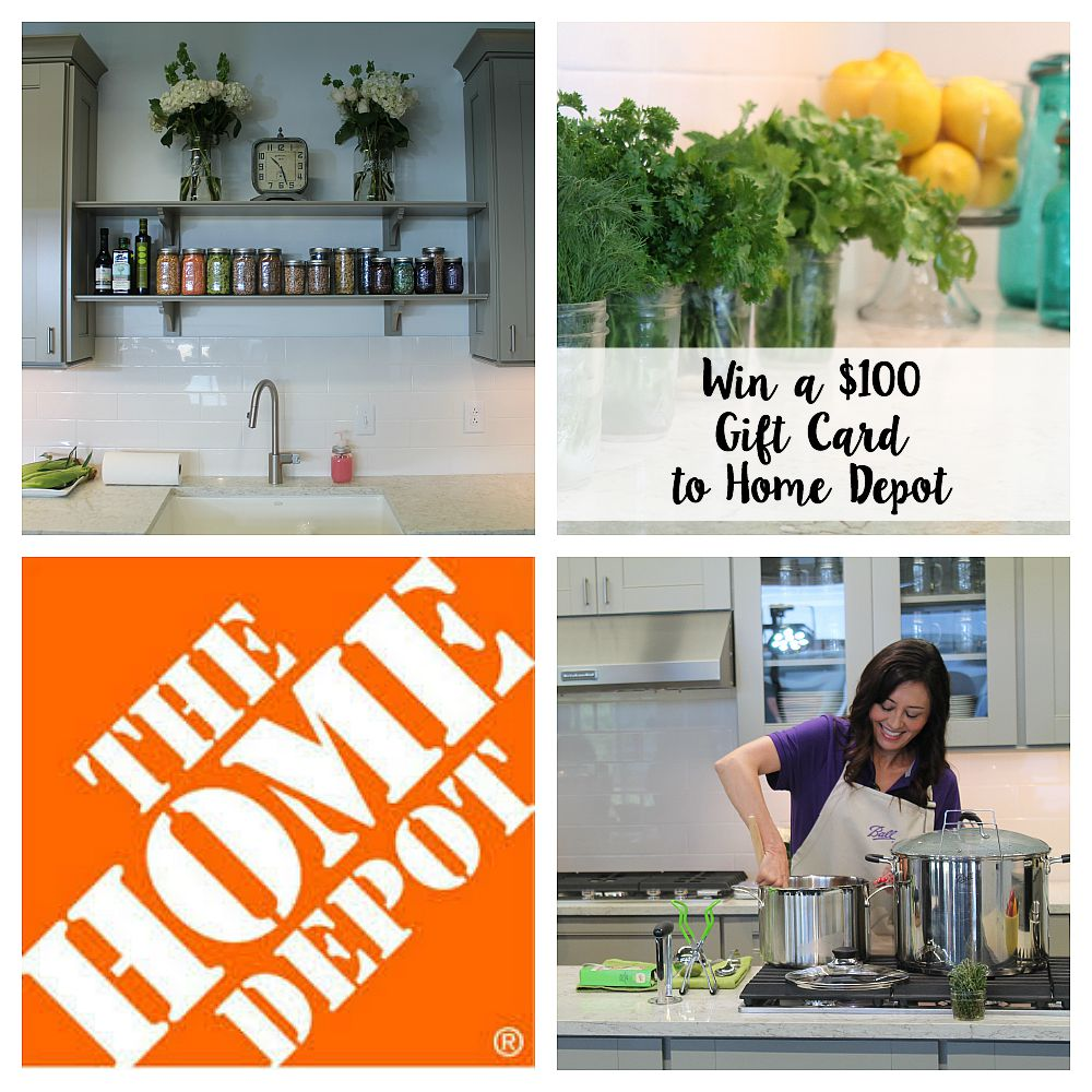 Home Depot Gift Card Giveaway & Can It Forward Day