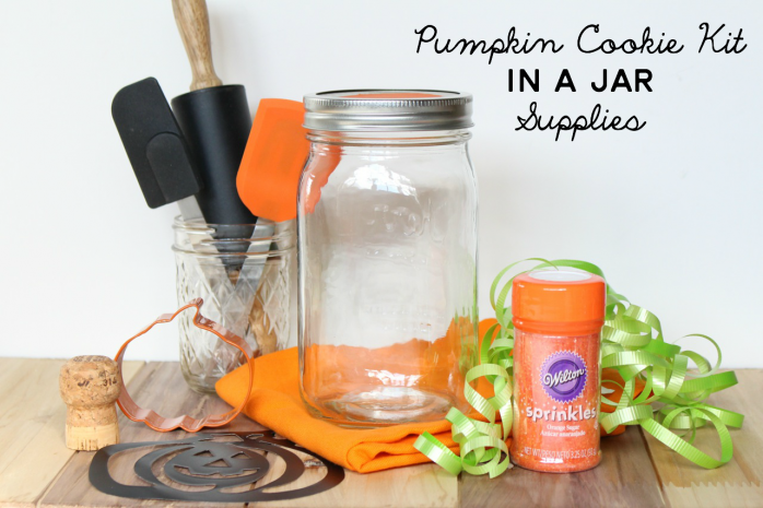 Pumpkin Cookie Kit in a Jar