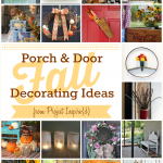 Fall Porch and decorating ideas shared at Project Inspire{d}