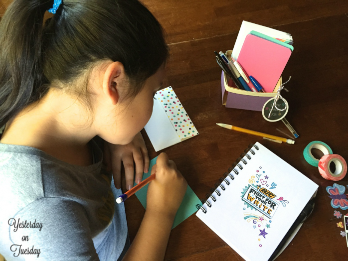 How to Create a Letter Writing Kit for Kids