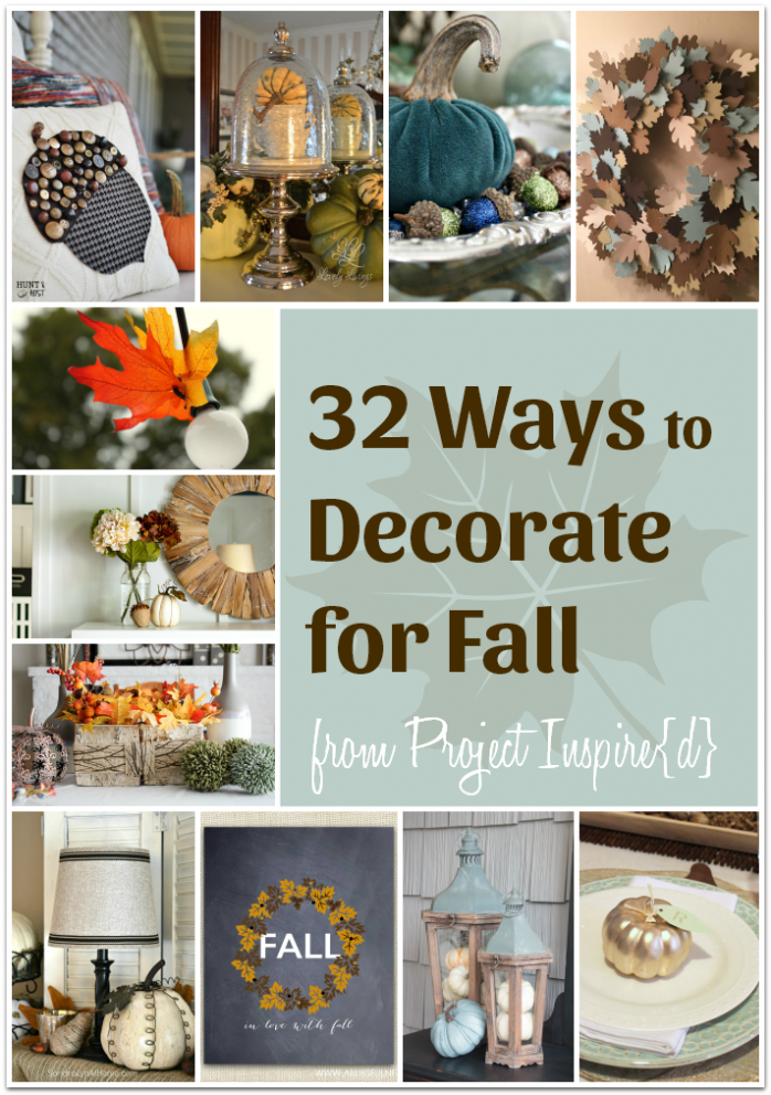32 Inspiring Fall Decorating Ideas