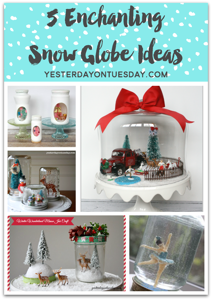 5 Enchanting Snow Globe Ideas
