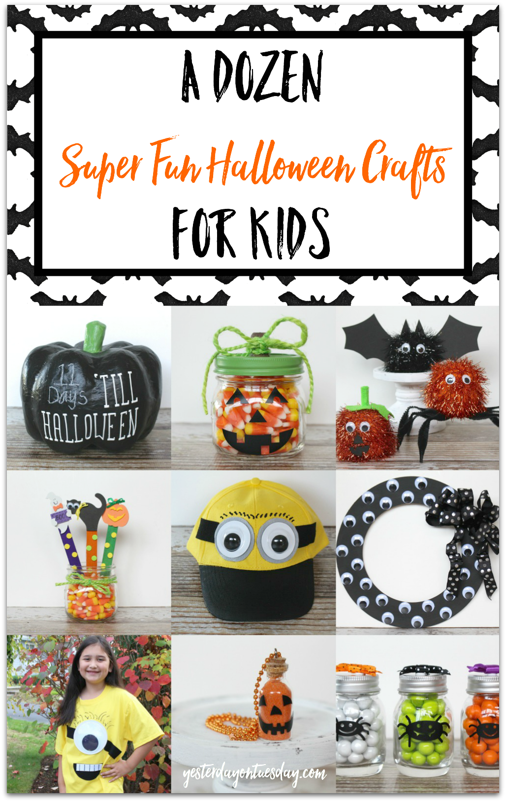 A Dozen Halloween Crafts for Kids