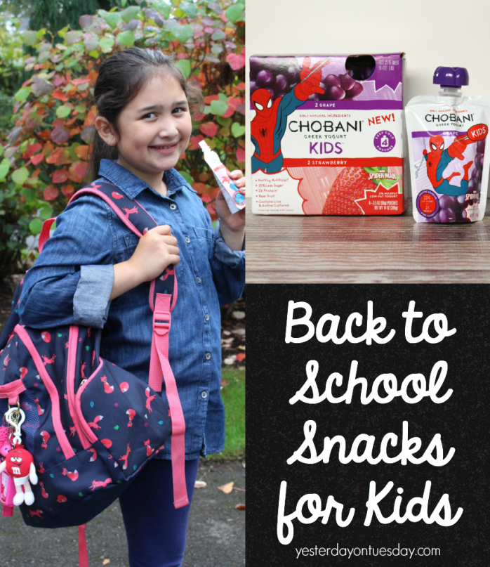 Yummy back to school snacks for kids