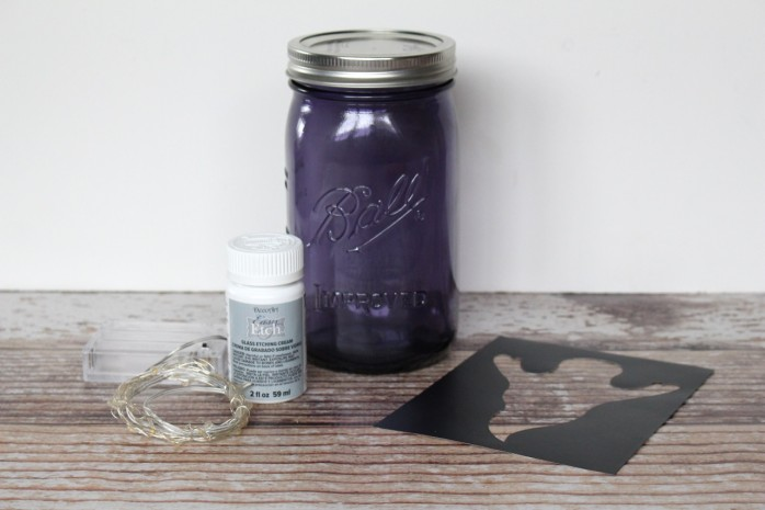 Ghostly Mason Jar, a fun Halloween decor or gift project