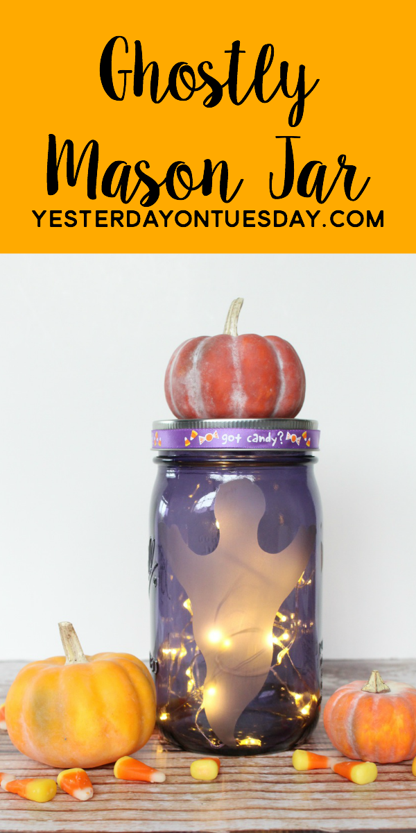 Ghostly Mason Jar