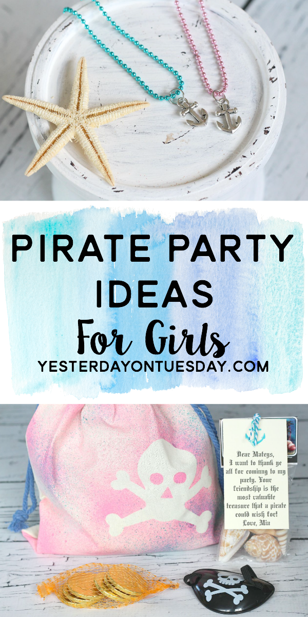 Remarkable Pirate Party Ideas For Girls Yesterday On Tuesday Short Hairstyles Gunalazisus