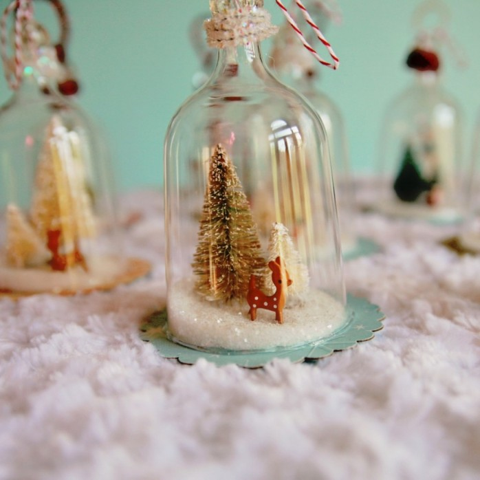 DIY Bell Ornaments