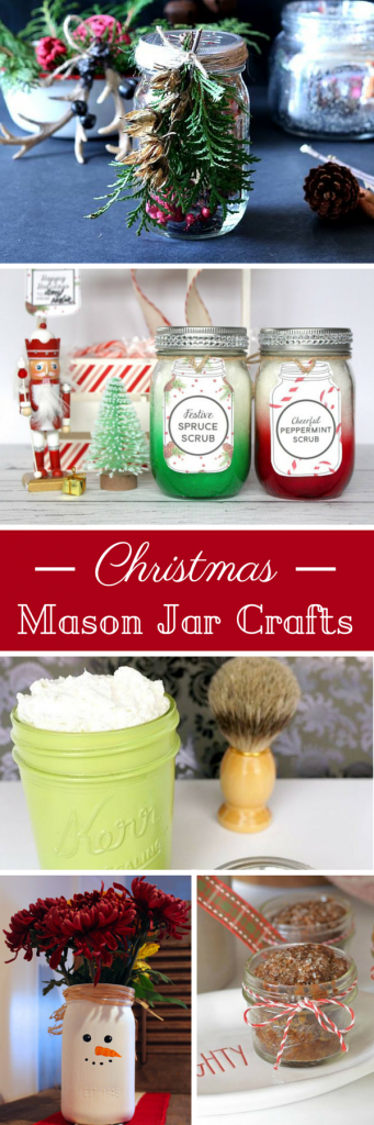 Wonderful Mason Jar Crafts for Christmas, awesome gift ideas