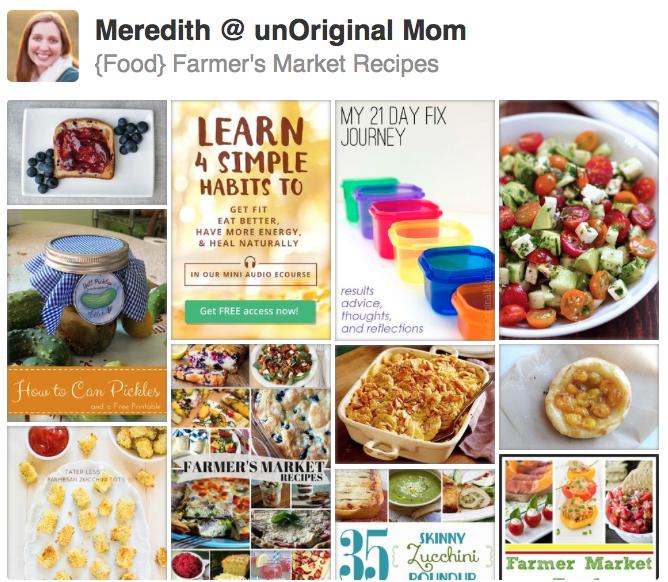 {Food} Farmer's Market Recipes