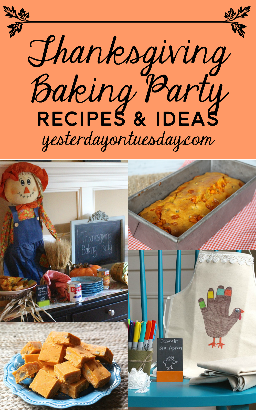 Thanksgiving Baking Party