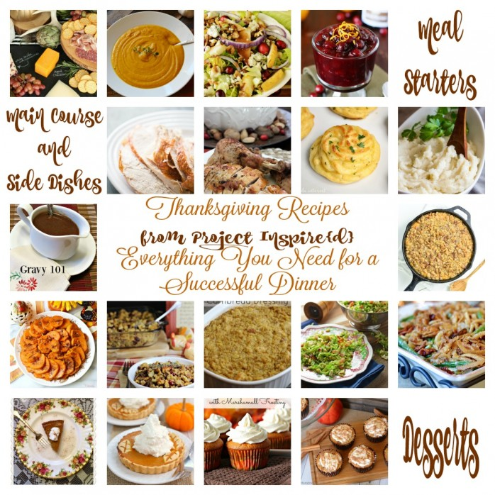 An amazing collection of Thanksgiving Dinner Recipes and side dishes!
