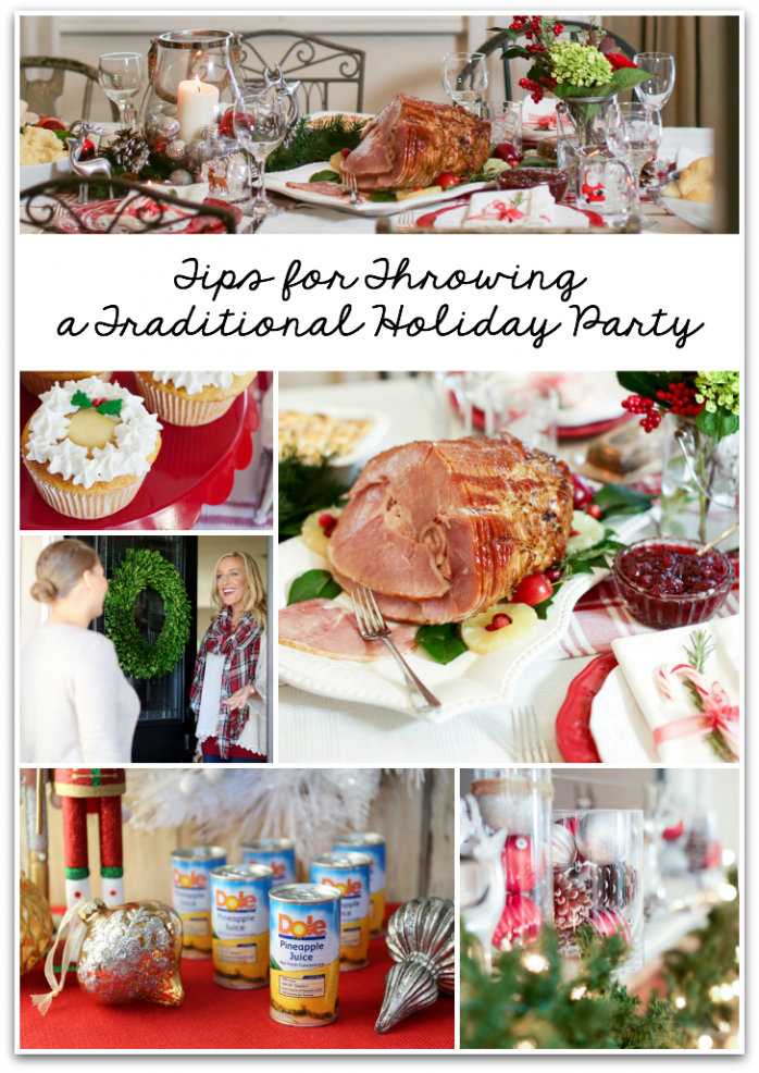 How to throw a Traditional Holiday Party, great ideas for Christmas entertaining
