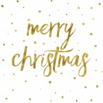 Merry Christmas background with gold texture