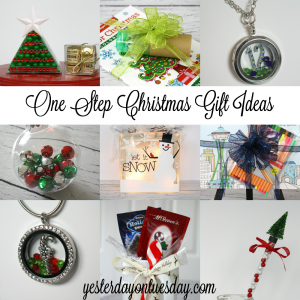 One Step Christmas Gift Ideas: easy presents for everyone on your list!