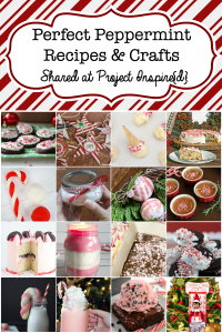 A collection of perfect peppermint recipes and crafts for the holidays