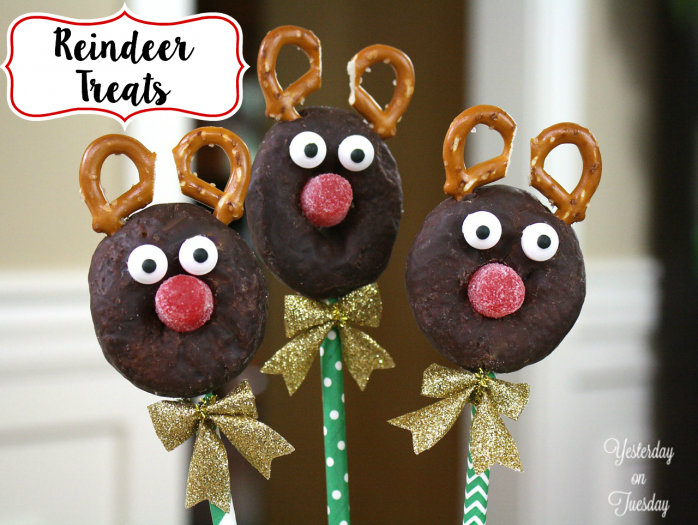 Fun and Festive Reindeer Treats, great for holiday entertaining!