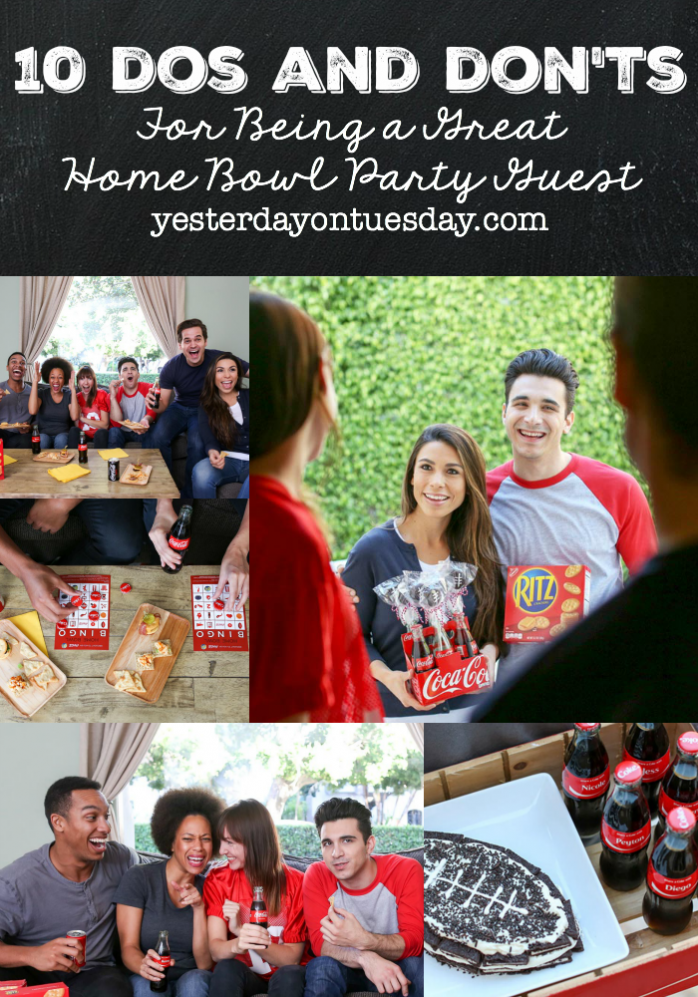 A fun list of 10 Dos and Don'ts for Being a Great Home Bowl Party Guest